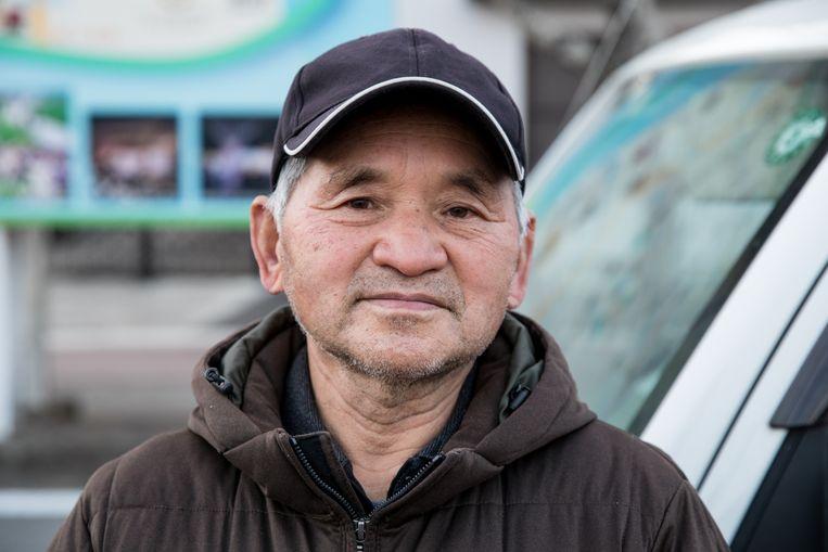Kouichi Nemoto wacht op de komst van zijn kinderen. Beeld Hiroki Taniguchi