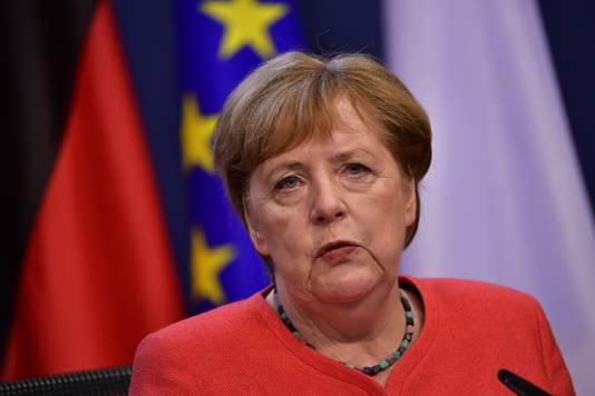 Angela Merkel, bondskanselier van de huidige EU-voorzitter Duitsland, belde met zowel de Turkse president Erdogan als de Griekse premier Mitsotakis.