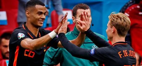 Gakpo moet liedje zingen na Oranje-debuut: 'Welk nummer? Daar denk ik nog over na'