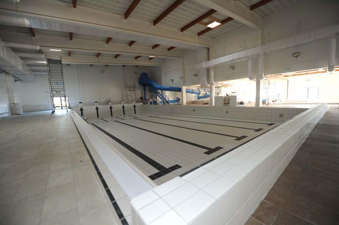 Inkijk in de nieuwe sportinfrastructuur: het nieuwe zwembad.