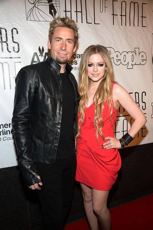 Chad Kroeger en Avril Lavigne