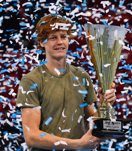 Jannik Sinner, 19 ans, décroche son premier titre ATP à Sofia