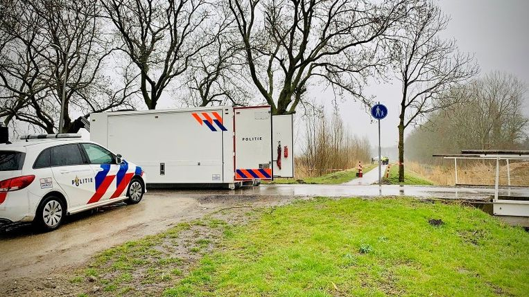 De Nico Broekhuysenweg. Beeld Politie