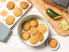 Wat Eten We Vandaag: Zoete courgettekoekjes met gember en sinaasappel