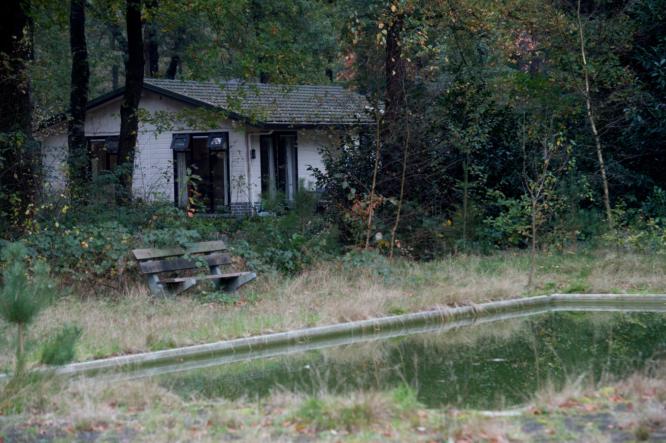 Vakantiepark Noord-Riezen in Uddel. Een voorbeeld van een park dat sterk verouderd is.
