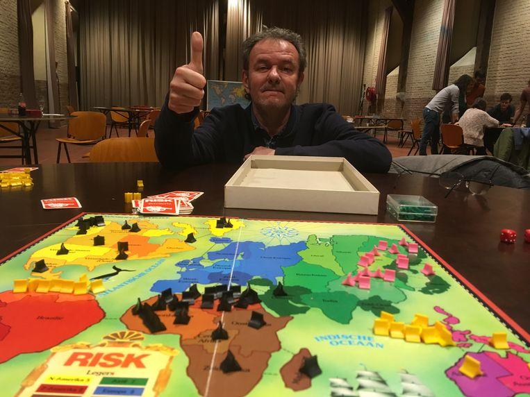 Paul Floreal is de eerste Belgische kampioen Risk.