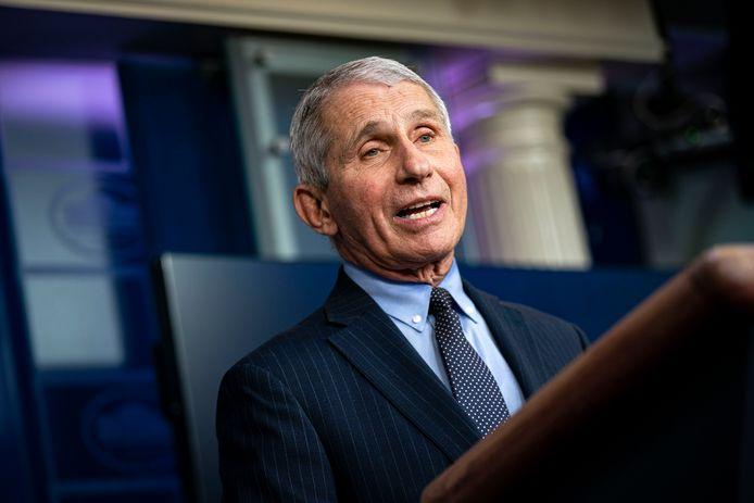 Anthony Fauci, conseiller de la présidence des États-Unis sur la pandémie.