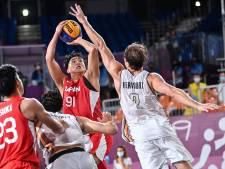 Basket 3x3: la Belgique battue 16-18 par le Japon dans son 2e match