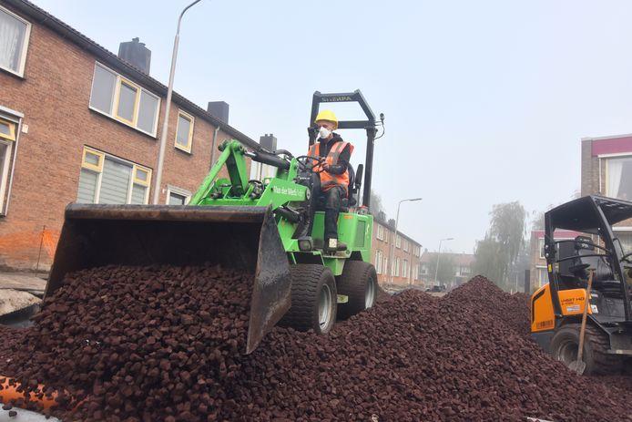 Het gebruik van schuimglas in Alphen aan den Rijn.