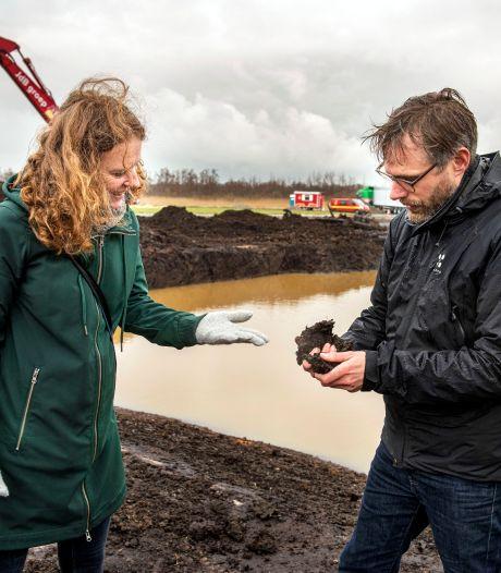 Polderlandschap bij Prinsenbeek terug in de tijd: 'Resetten natuur geeft nieuwe soorten een kans'