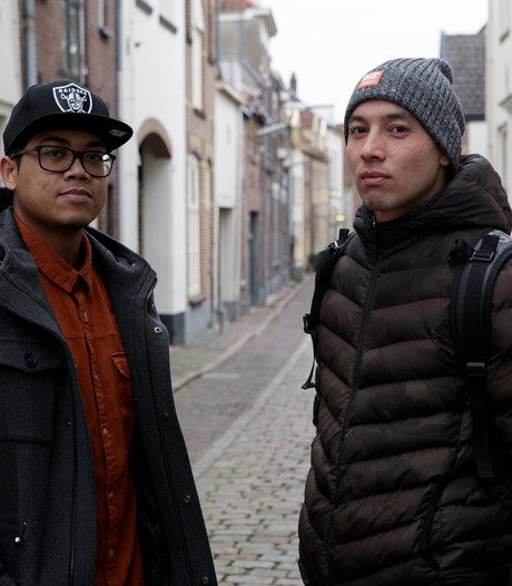 Als Joeri en Reynaldo elkaar aankijken, zien ze zichzelf