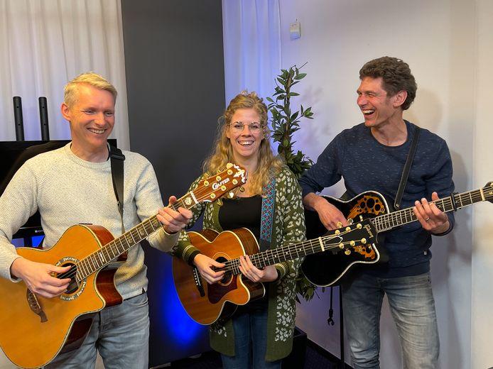 Rudi Oude Vrielink, Pia Rosens en Paul Homan kijken er naar uit om op te treden voor een groot publiek.