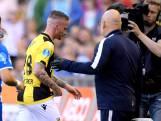 Büttner twee wedstrijden geschorst na rode kaart tegen PEC
