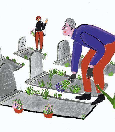 Victoria en Robert rouwden om hun partners op het kerkhof en toen zagen ze elkaar