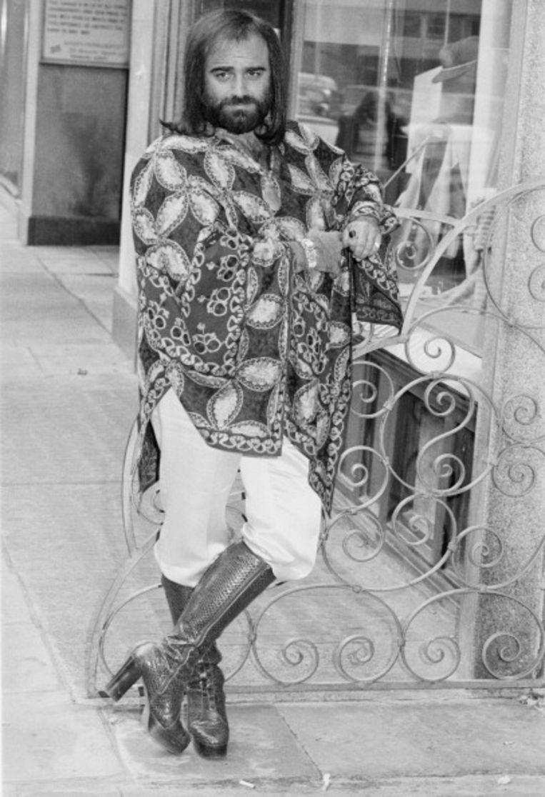 De Griekse zanger Demis Roussos, 1974.  Beeld Getty Images