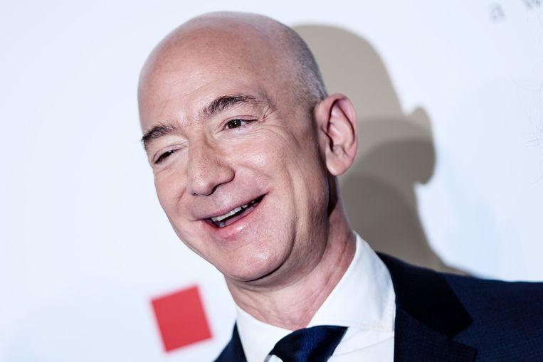 Amazon-oprichter Jeff Bezos, de rijkste man ter wereld.