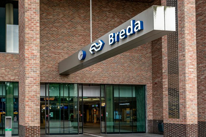station Breda stock