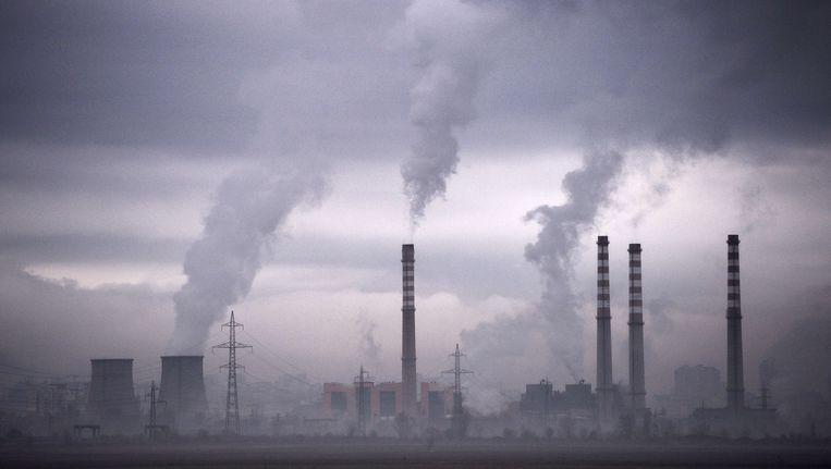 Topvervuiler China komt met een ambitieus emissieplan dat de Amerikaanse plannen de loef afsteekt. Beeld AFP