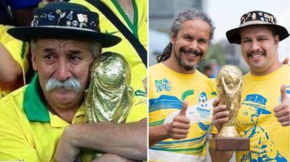 Zonen eren legendarische Braziliaanse fan