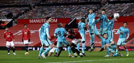 Volgende tik voor ploeterend Liverpool: uitgeschakeld in FA Cup door Manchester United