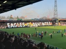 LIVE | GA Eagles en NAC sprankelen eerste half uur niet