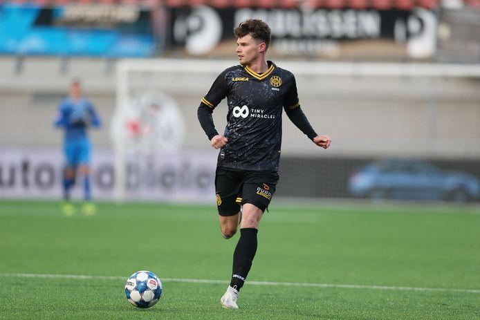 Danny Bakker speelde vorig seizoen op huurbasis voor Roda JC.