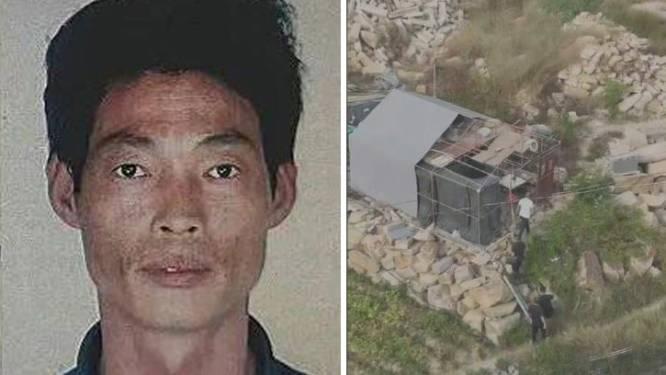 Man slaat op de vlucht na moord op twee buren in China. Velen hopen dat hij nooit wordt gevat