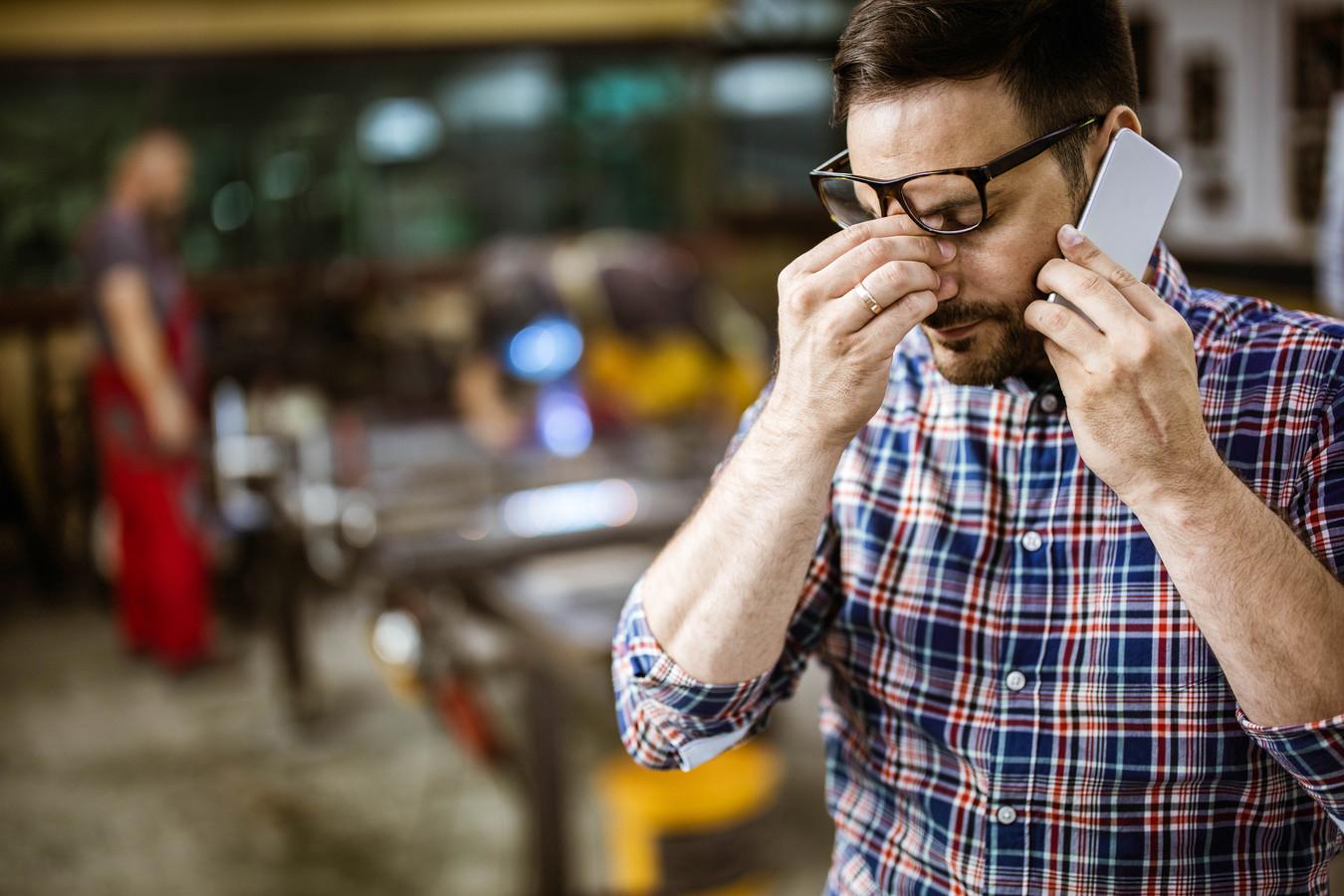 Een slechte communicatie met je werkgever kan voor een burn-out zorgen.