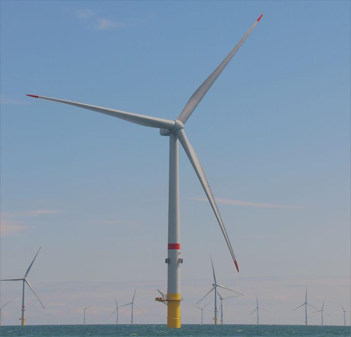Norther, het grootste windmolenpark op zee, is operationeel.