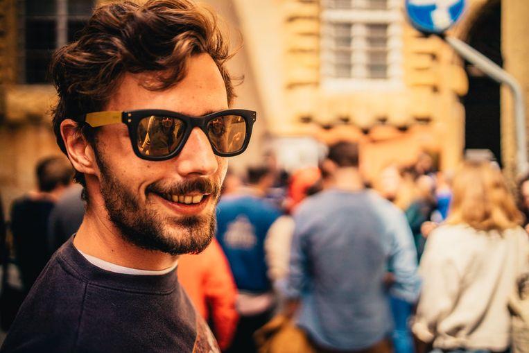 Lucas Selfslagh, de architect van 'Ghent Theft Auto': 'Mijn grootste droom is dat dit een platform wordt waarop Gentenaars elkaar virtueel ontmoeten wanneer dat in de fysieke wereld niet kan.' Beeld rv