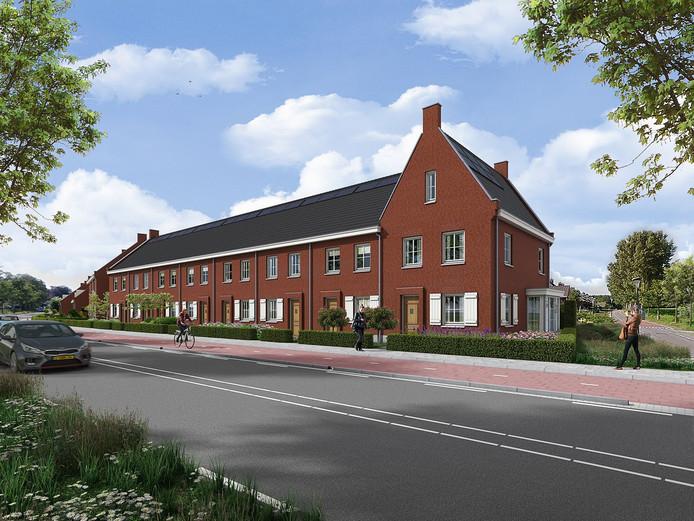 De laatste elf woningen die in ParkHagen worden gebouwd.