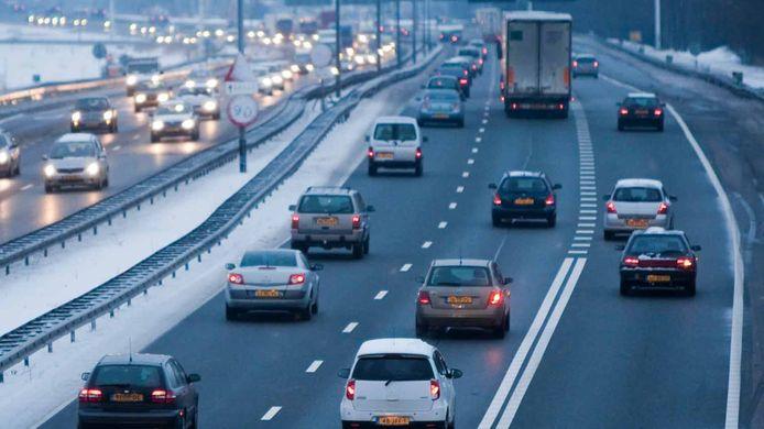 Invoegen op de snelweg is voor veel automobilisten een stressvol moment.