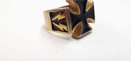 Opvallend: oude nazi-ring duikt op tussen bij inbraak buitgemaakte sieraden