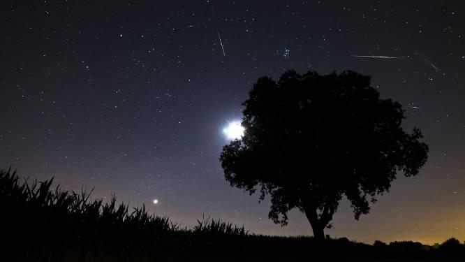 Meteorenzwermen zorgen komende weken voor veel vallende sterren
