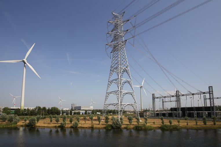 Windmolens in de buurt van Brugge. Foto ter illustratie. Beeld Photo News