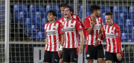 Jong PSV geeft overwinning tegen NEC in de slotfase nog weg