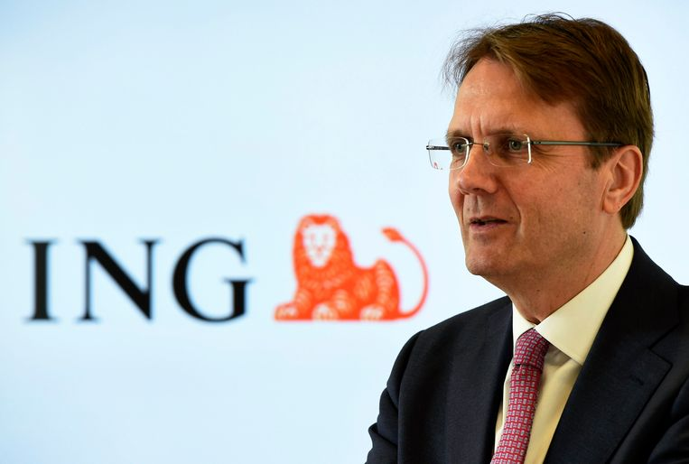 CEO Rik Vandenberghe van ING. Beeld Photo News