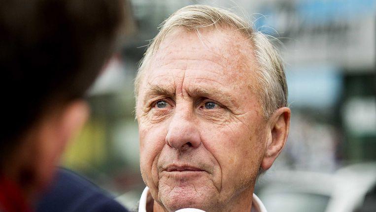 Johan Cruijff. Beeld anp