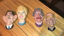 Ook deze 'karikatuur' figuurtjes stellen de koninklijke familie voor.