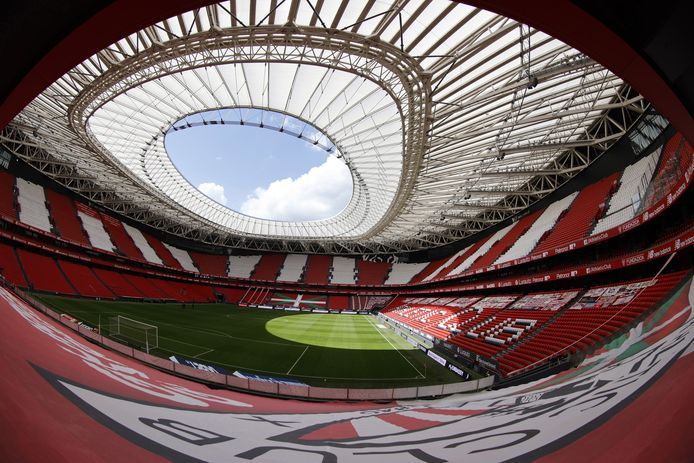 San Mames, het stadion van Athletic Bilbao.