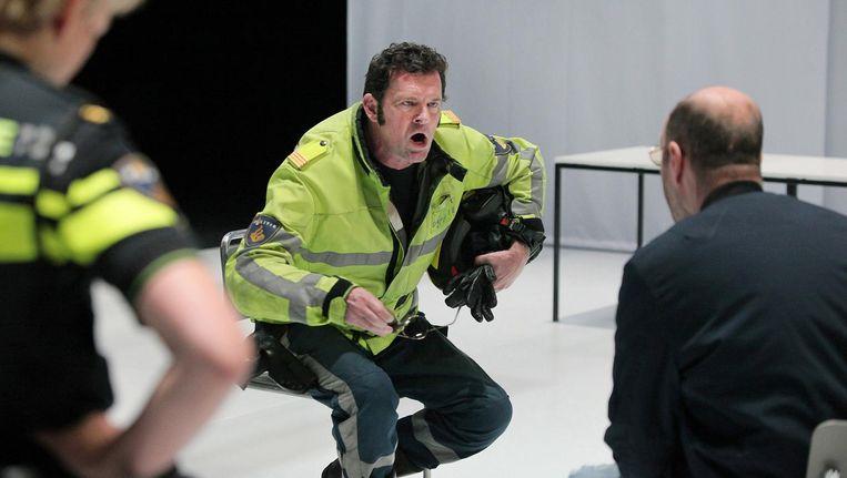 Ook Mark Rietman speelt de verdwijning groots uit Beeld Sanne Peper