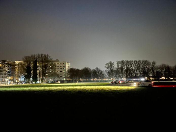 Archieffoto van politie in Park de Wezenlanden in Zwolle.