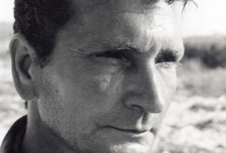 De Egyptische romancier Albert Cossery. Beeld