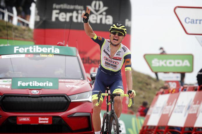 Rein Taaramäe wint de derde etappe van de Vuelta.