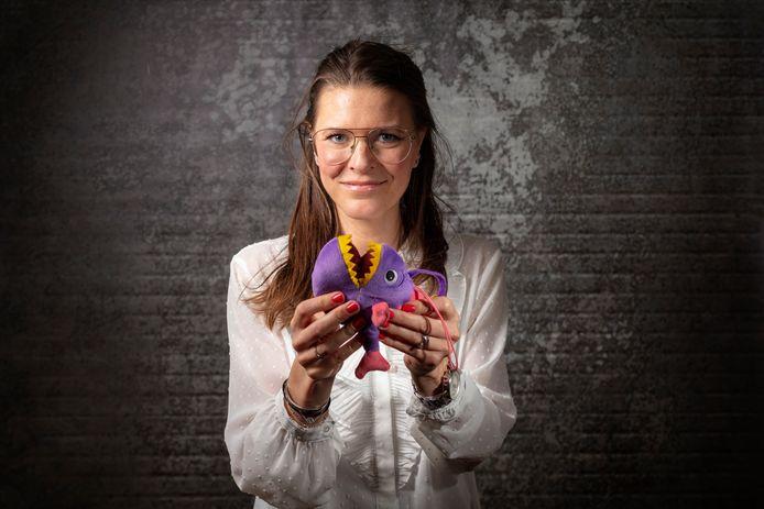 Ontwikkelingspsychologe  Leonie Vreeke helpt jonge kinderen met angsten.