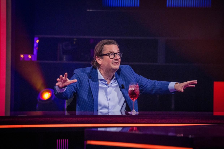 Marc Coucke in 'De Cooke & Verhulst Show'. Beeld Play4
