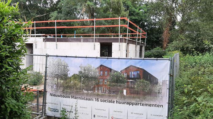 Aan de Marnixstraat in Harderwijk worden zestien huurappartementen gerealiseerd.