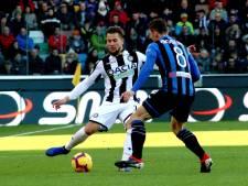 Geslaagde rentree Hidde ter Avest bij Udinese