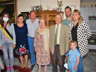 Huwelijksbootje van Emmy en Jozef vaart 65 jaar