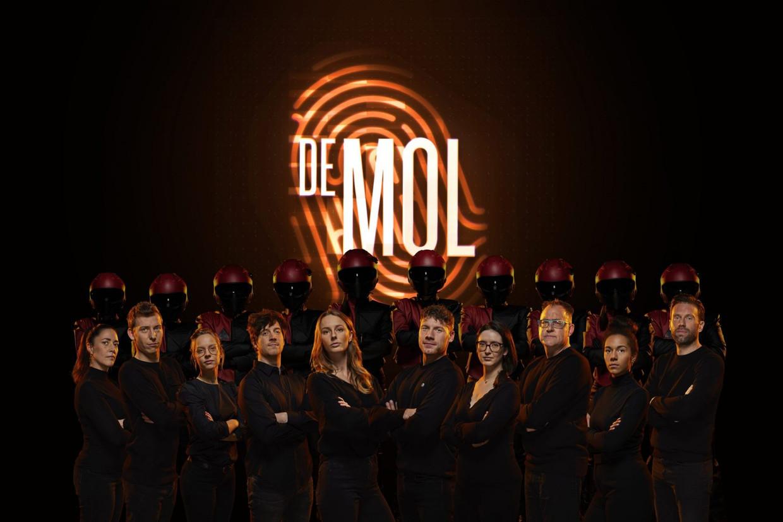 De kandidaten van het nieuwe seizoen 'De mol' Beeld Play4